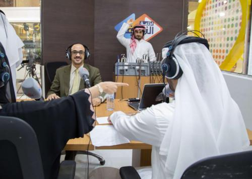 About-to-Start-Interview-Sharjah-Radio-November-2016